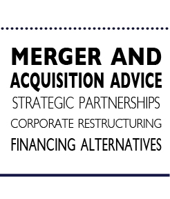 Mergers and Acquisitions Consultants